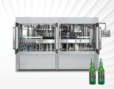 2 In 1 Beer Bottling Machine