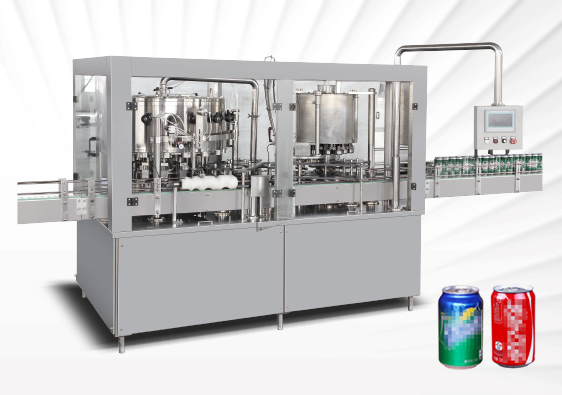 Cans Carbonated Beverage Filling Machine