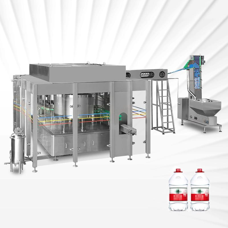 Rotary 5L Water Filling Machine