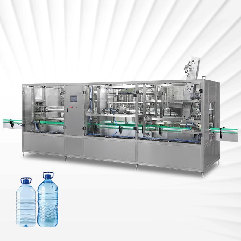 Linear 10L Water Filling Production Line