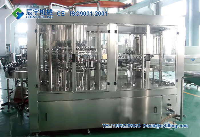 Juice(Tea) Filling Machine
