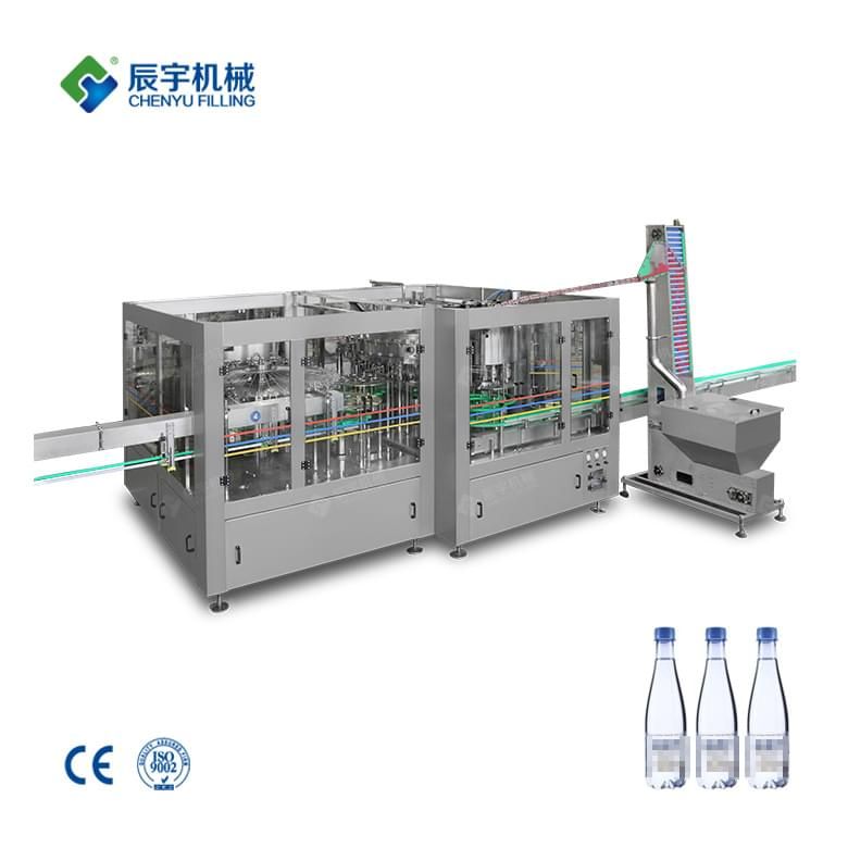 Automatic Sparkling Water Filling Machine