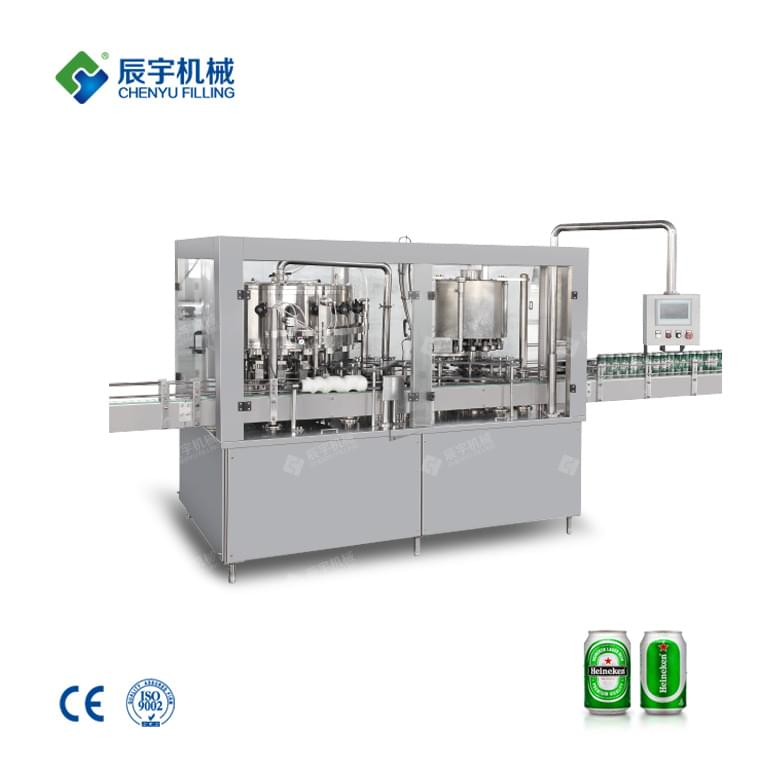Beer Can Filling Machine