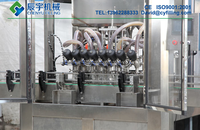 Canned Fruit Pulp Filling Machine