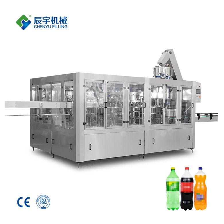 Carbon Dioxide Drink Filling Machine