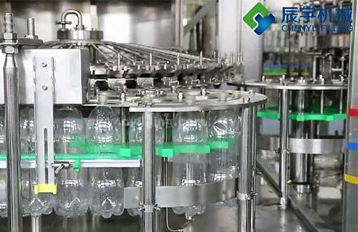 Glass Bottle Steam Beverage Production Line