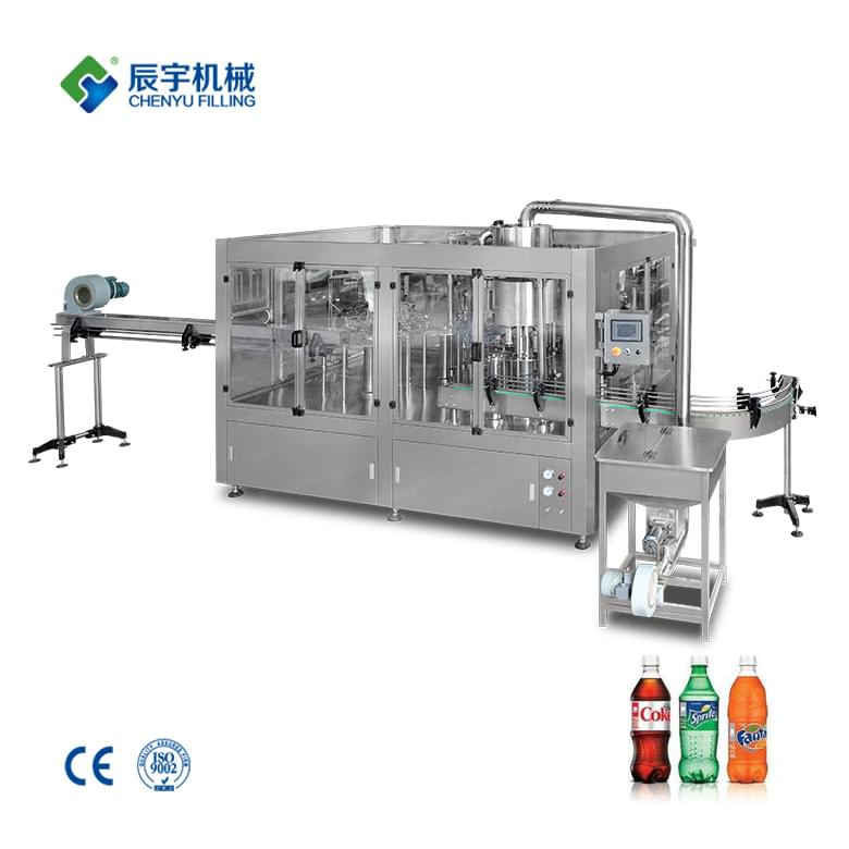 Small Carbonated Water Filling Machine