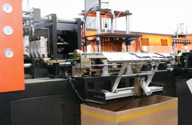 8 Cavity Blowing Molding Machine