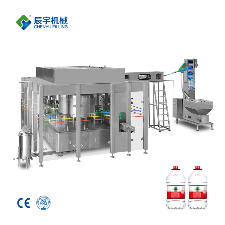CGF 16-16-5 Bottled Water Filling Production Equipment 5L