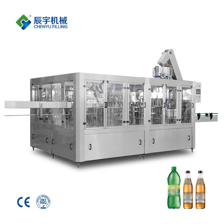 Carbonated Beverage Bottled Production Line