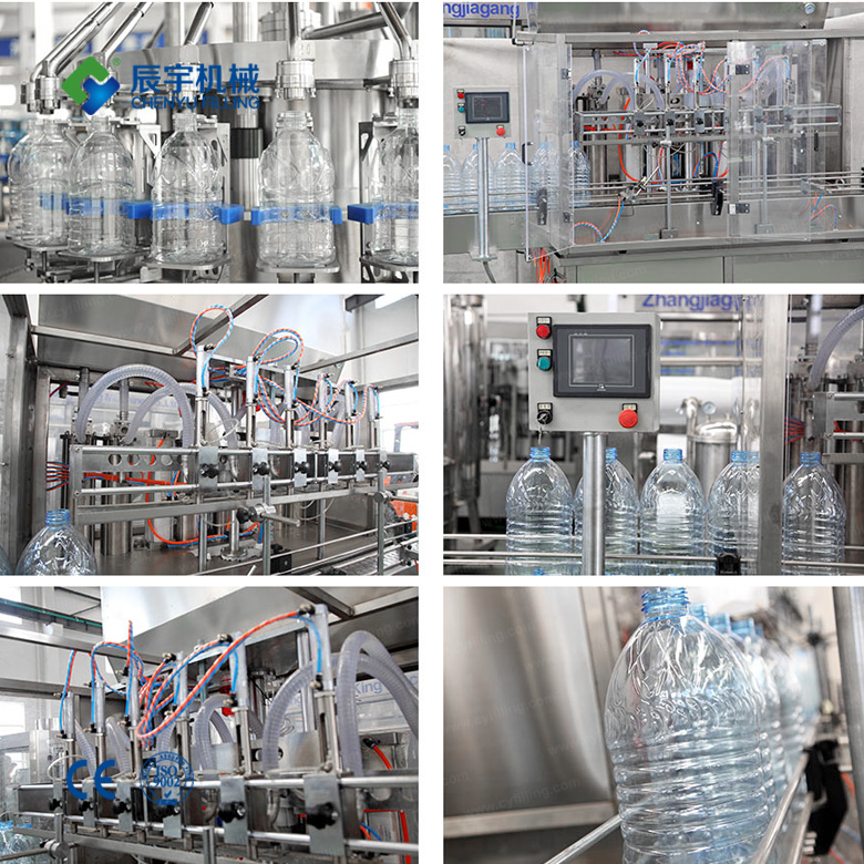 Edible oil linear filling production line