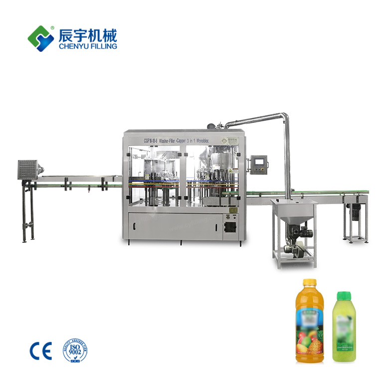 Kiwi Juice Beverage Filling Machine
