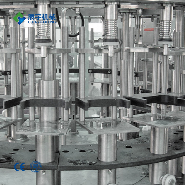 Linear oil filling machine