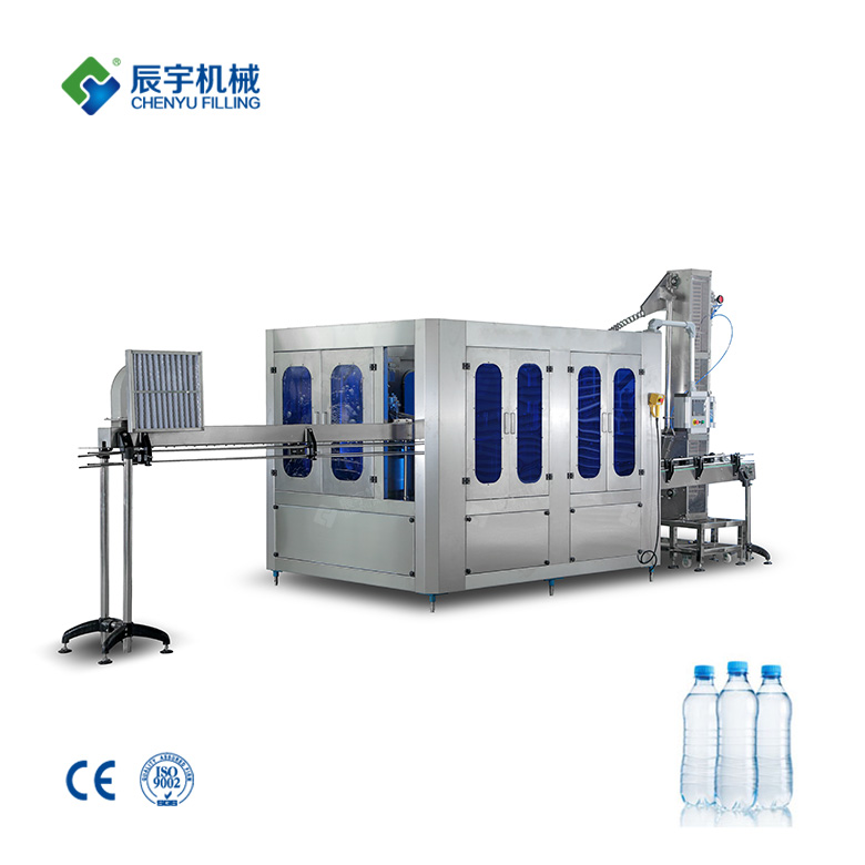 Pet Bottle Drinking Water Filling Machine