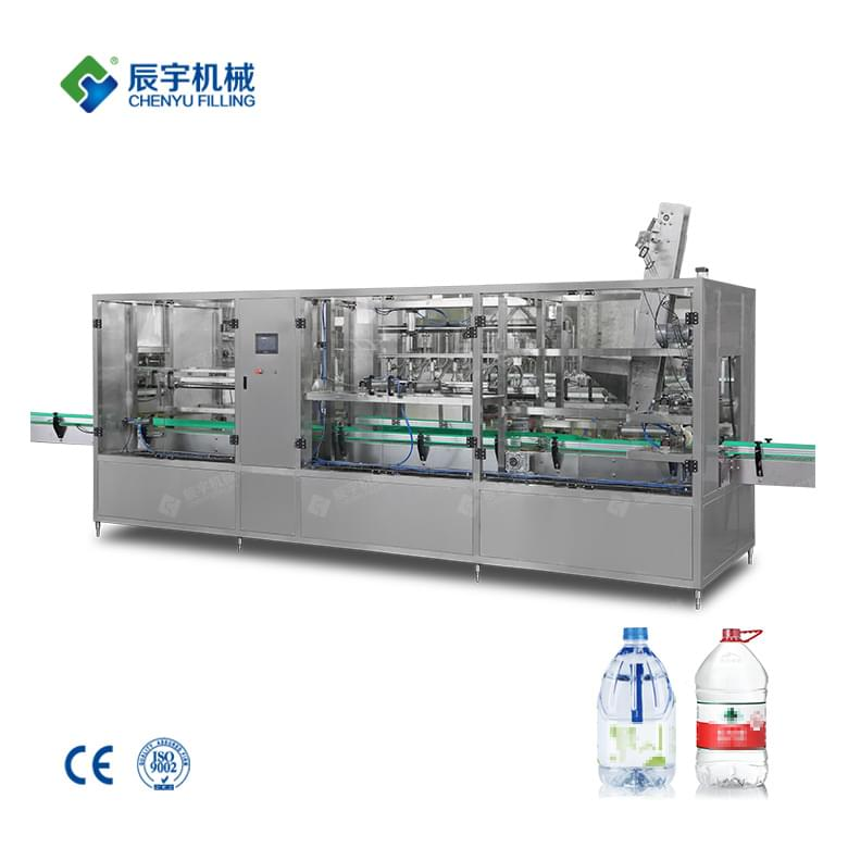 CGF6-6-1 Big Bottled Mineral Water Production Line 10L