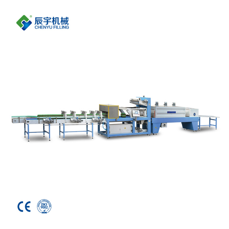 Lineal Type PE Film Shrink Wrapper Machine
