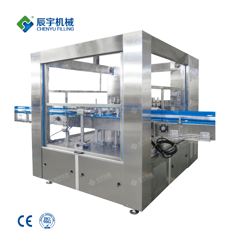 Hot Melt Adhesive Labeling Machine-water filling machine|water?bottling?machine|bottle?filling?machine|Suzhou CHENYU Packing Machinery Co., Ltd.
