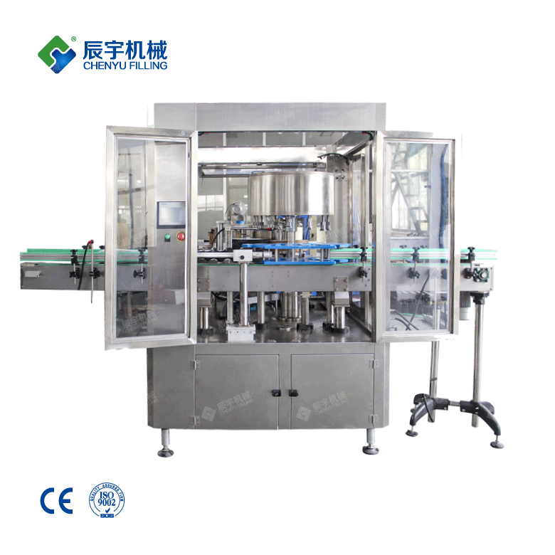 Rotary High Speed Hot Melt Glue Labeling Machine-water filling machine|water?bottling?machine|bottle?filling?machine|Suzhou CHENYU Packing Machinery Co., Ltd.