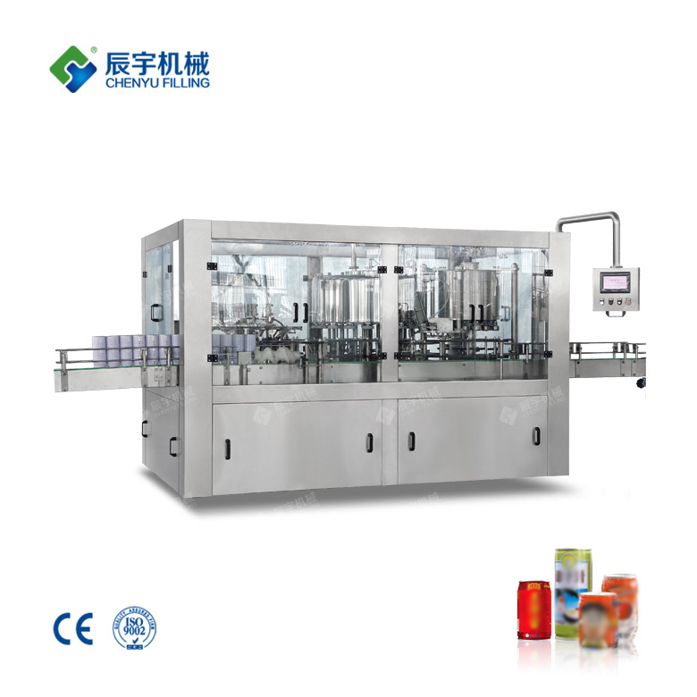 Cans tea beverage filling machine