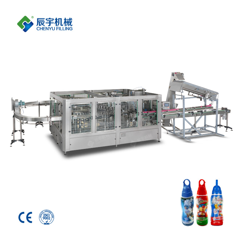 Milk Beverage Filling Machine