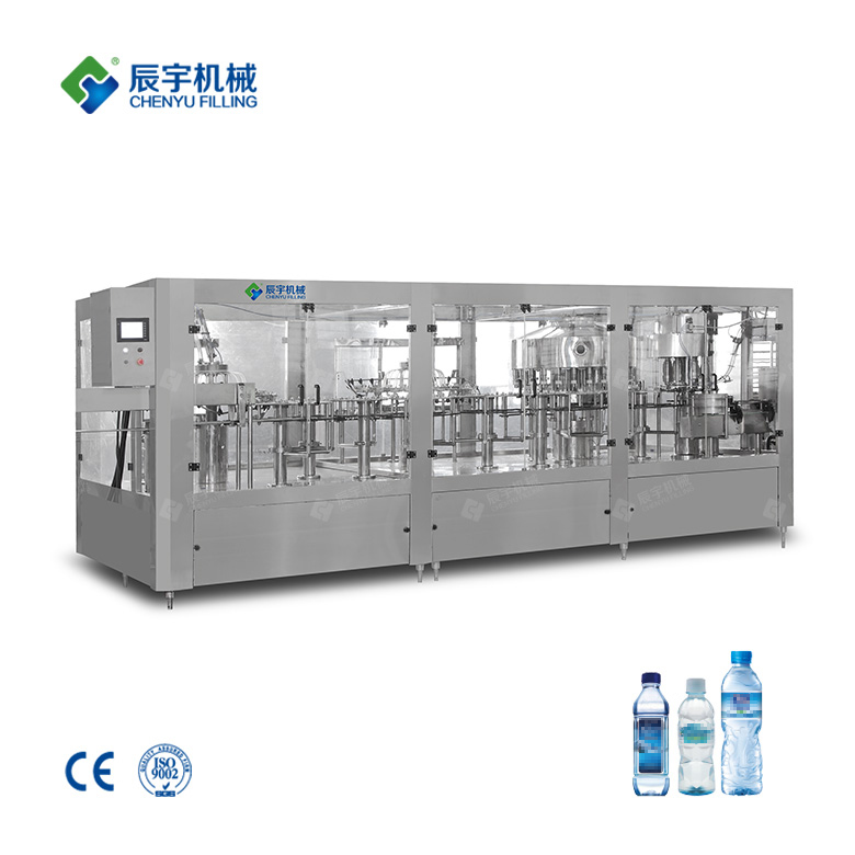 Four in One Mineral Water Filling Machine
