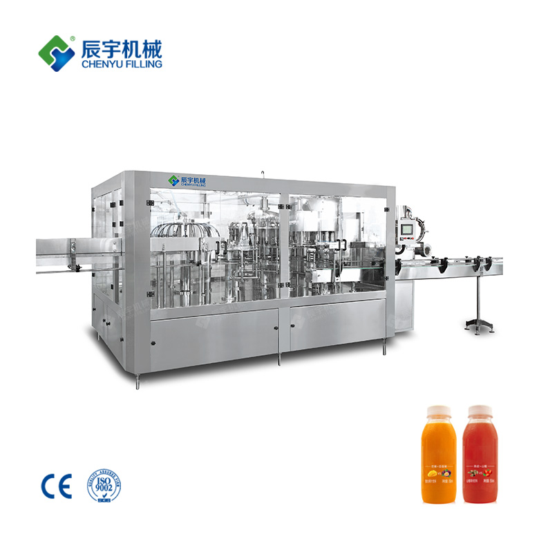 RCGF Three in One Juice Hot Filling Machine