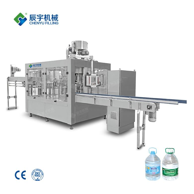 CGF8-8-4 Large Bottle Pure Water Filling Machine