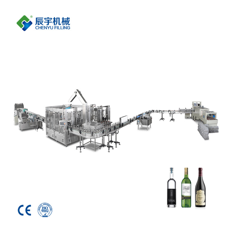 Red Wine Filling Production Line