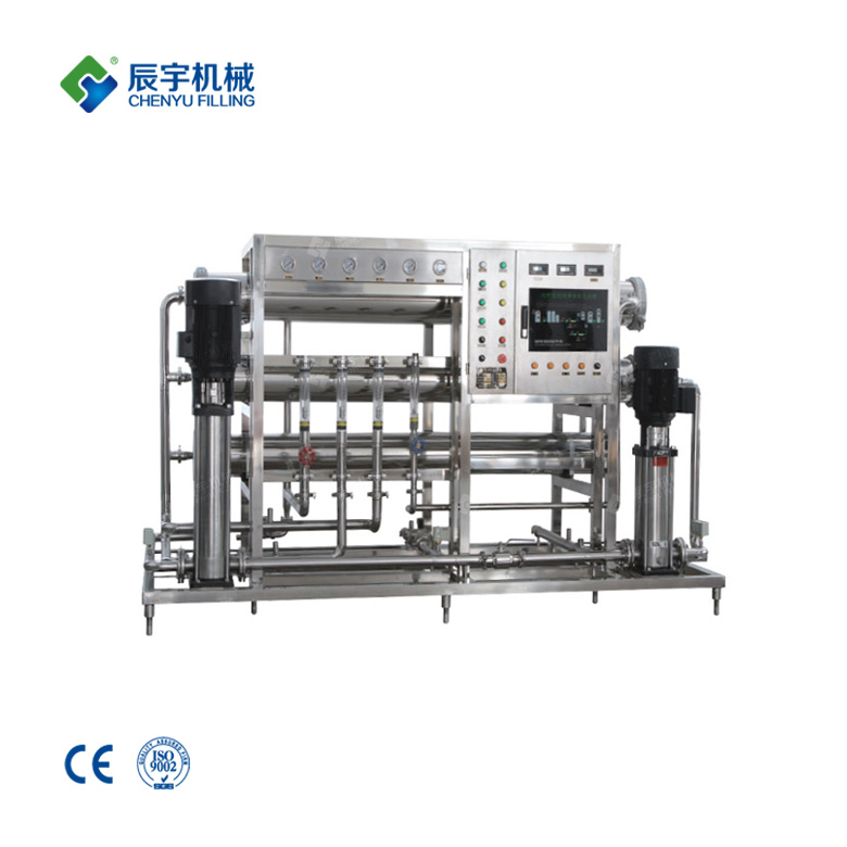 Single Pass Reverse Osmosis Unit