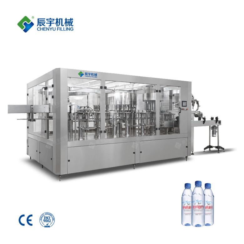 Small Scale Water Bottling Equipment