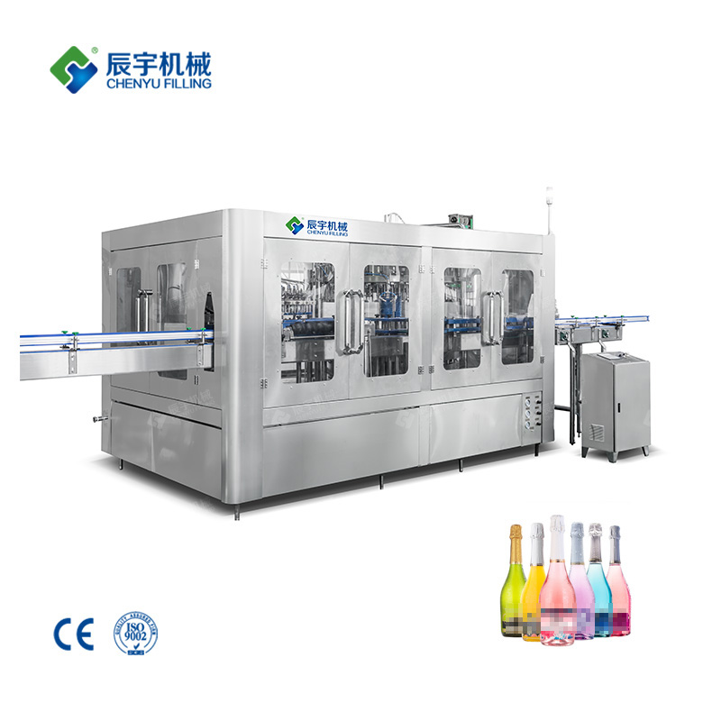 Champagne Filling Machine